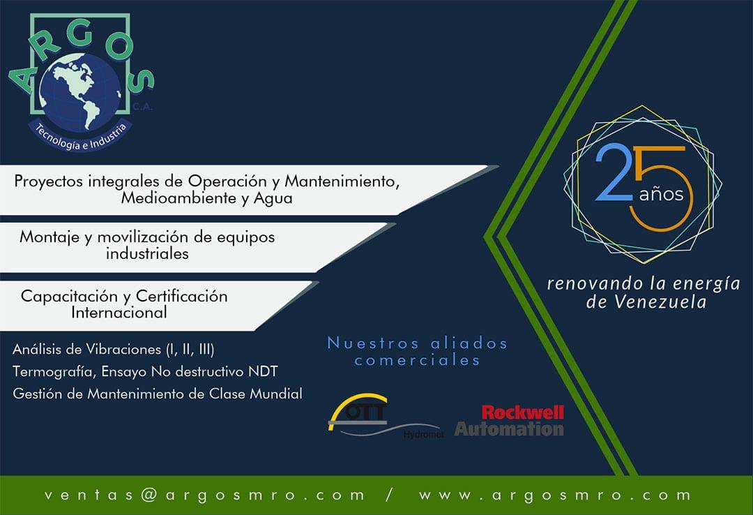 ARGOS. 25 años renovando la energía de Venezuela