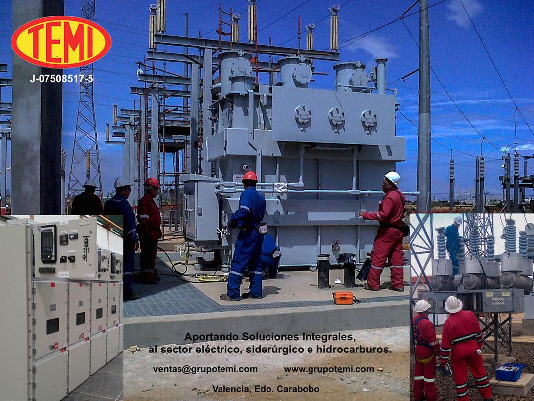 TEMI. Aportando Soluciones Integrales al sector eléctrico, siderúrgico e hidrocarburos