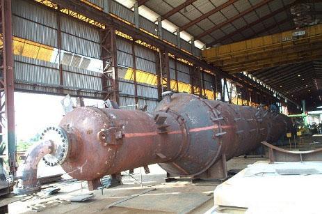 Columna fabricada por empresa venezolana