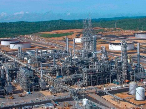 Proyecto Hamaca. Mejorador de crudo de Petropiar