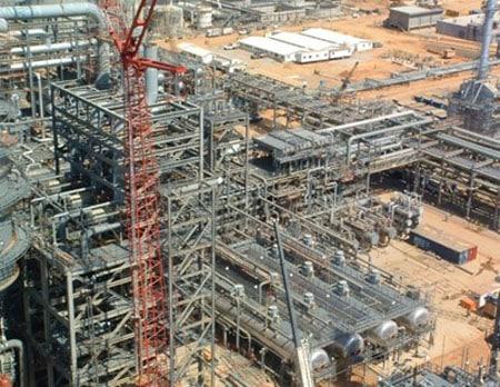 Estructura metálica, fabricada y montada por empresas venezolanas