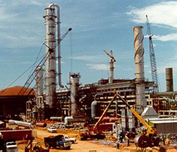 Planta de metanol. Ingeniería de detalles y construcción por empresa venezolana