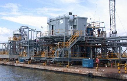Módulos fabricados en la Costa Oriental del Lago de Maracaibo