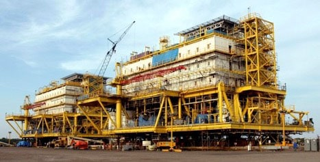 Plataformas construidas por empresa venezolana en México para el Golfo